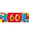 60 jaar sticker