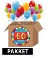 60 jaar versiering voordeel pakket