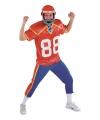 American football speler kostuum