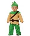 Baby kostuum Robin Hood