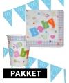 Babyshower versiering pakket jongen