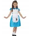 Blauwe prinsessenjurk Alice voor meisjes