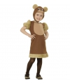 Bruine beer kostuum voor kleuters
