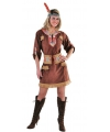Bruine indianen dames outfit