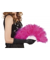Burlesque waaier roze