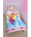 Disney Princess dekbedovertrek meisjes 135 x 200 cm