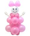 Doe het zelf ballon set geboorte meisje