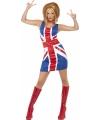 Engelse vlag  jurkje