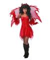 Feest jurkje rood voor dames