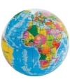 Foam wereldbol 6 cm