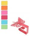 Gekleurde vlinder tafelkleedklemmen