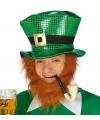 Glimmende St. Patricks day hoed