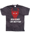 God Is Busy t-shirt