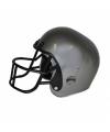 Grijze rugby helm voor volwassenen