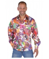 Hippie blouses heren Fun