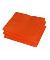 Kleine oranje servetten 20 stuks