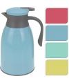 Koffiekan roze/grijs 1 liter