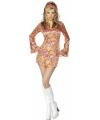 Kort hippie jurkje voor dames