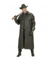 Lange zwarte cowboys jas