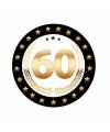 Luxe Bierviltjes 60 jaar