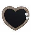 Memo bord houten hart 30 cm