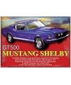 Metalen muurplaat Shelby 30 x 40 cm