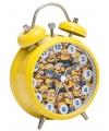 Minions wekker 8 cm