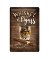 Muurdecoratie Whisky 20 x 30 cm