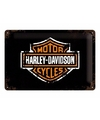 Muurplaatje Harley Davidson 20 x 30 cm