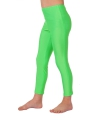 Neon groene kinder legging