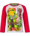 Ninja Turtles t-shirt grijs/rood voor jongens