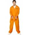 Oranje gevangenen kostuum
