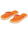 Oranje heren teenslippers