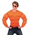 Oranje spieren shirt