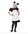 Panda jurkje voor kleuters