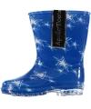 Peuter regenlaarzen met sterren blauw