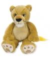 Pluche leeuwen welp 28 cm