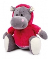 Pluche nijlpaard Nina 35 cm