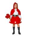 Roodkapje kostuum voor meisjes