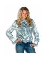 Rouches blouse zilver dames