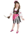 Roze piraten kostuum voor meisjes