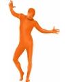Second skin pak oranje
