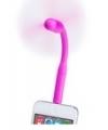 Smartphone ventilator roze
