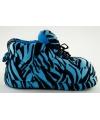 Sneaker sloffen meisjes tijger blauw
