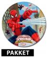 Spiderman kinderfeest pakket