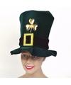 St. Patricks day hoed fluweel