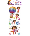 Stickervel 3D Dora