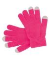 Touchscreen handschoenen roze