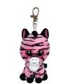 Zebra Ty Beanie Zoey sleutelhanger