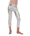 Zilveren kinder legging